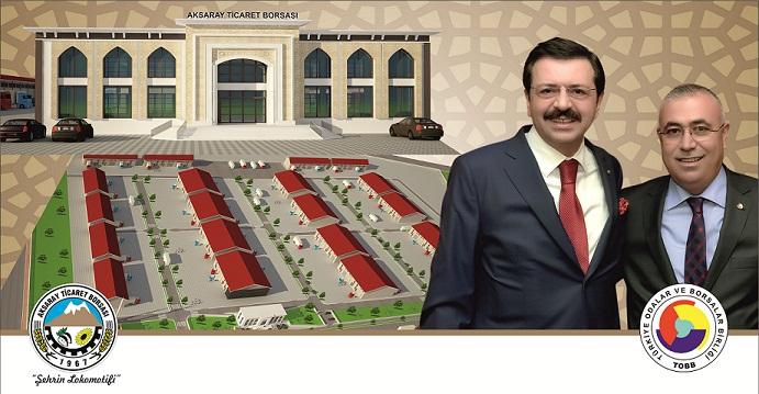 Aksaray Tarım Ticaret Merkezinin Temeli  Atılıyor