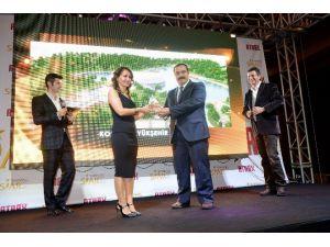 Büyükşehir'in Rekreasyon Alanlarına Ödül