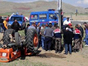 Aksaray'da kaza! Devrilen Traktörün Altında Öldü
