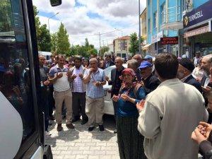 Ramazan Umrecileri Dualarla Uğurlandı