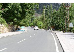 Taşkent'te 3 milyon liralık prestij cadde düzenlemesi