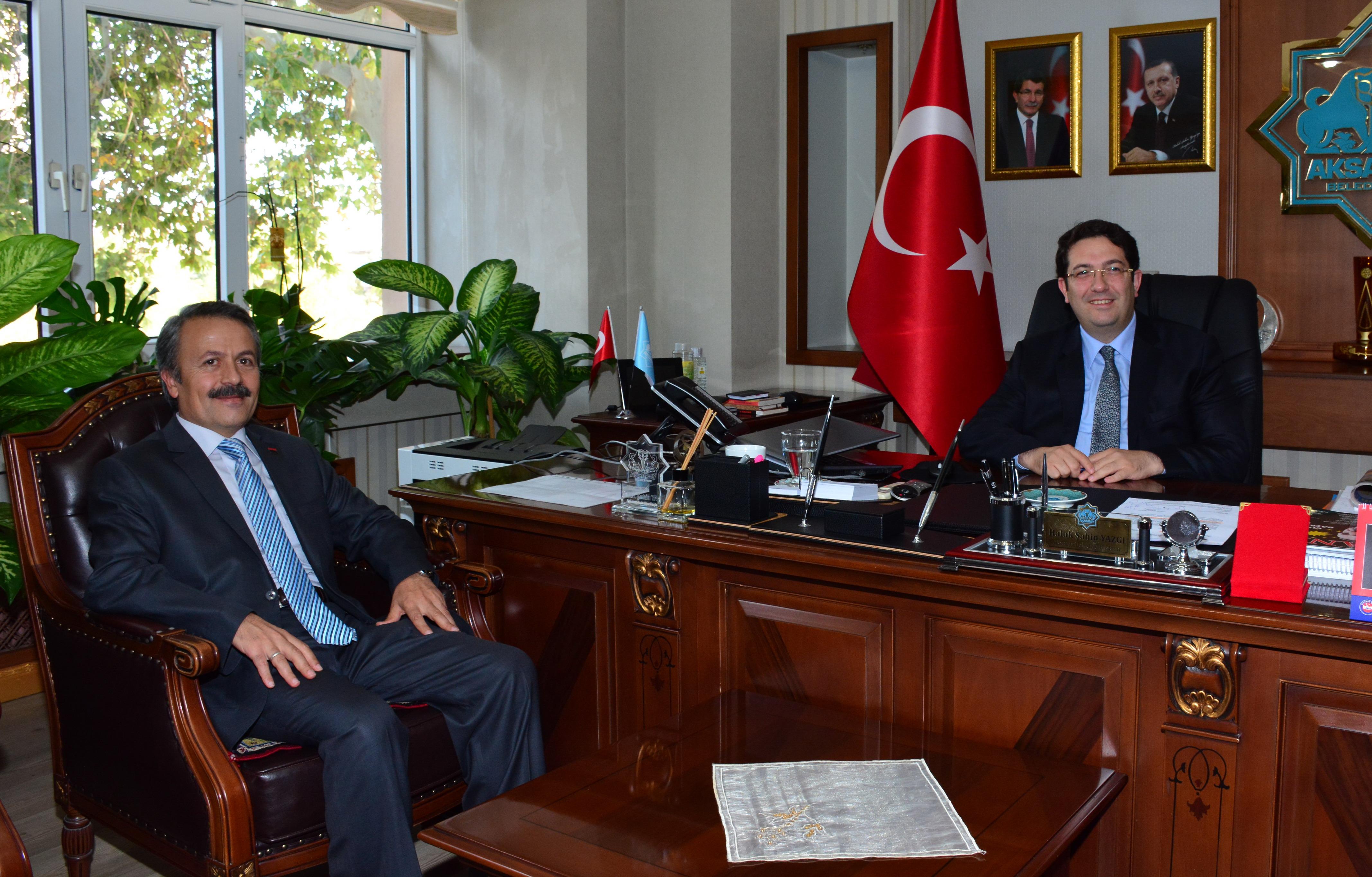 Rektör Acar'dan Başkan Yazgı'ya ziyaret