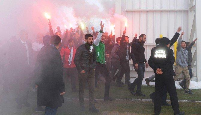 Konyaspor'a taraftar ziyareti