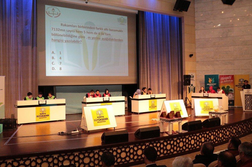 Bilgi ve münazara yarışmalarının ilçe finalleri tamamlandı