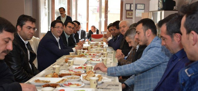 Başkan Yazgı, esnaflardan 16 Nisan için destek istedi
