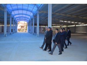 Ereğli'de kapalı pazar projesinde sona gelindi