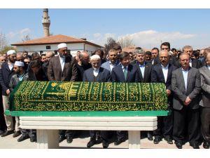 Eski Konya Milletvekili Muharrem Candan son yolculuğuna uğurlandı