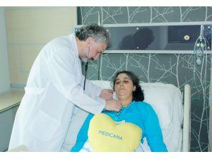 Ameliyat ile kalp kapağı değiştirilen hasta yeniden sağlığına kavuştu