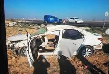 Kızören'de kaza 2 yaralı