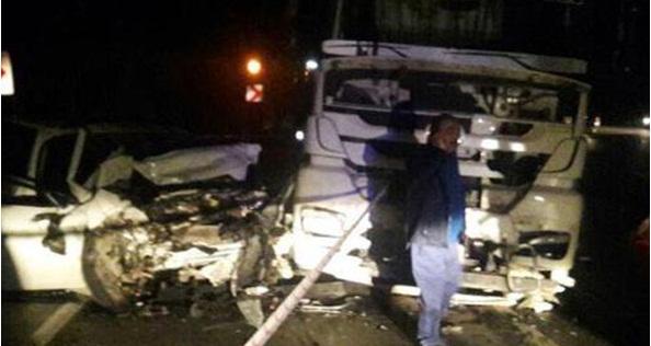 Seydişehir Antalya Yolunda Trafik Kazası 2 Ölü