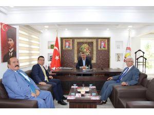 MEDAŞ Genel Müdürü Uçmazbaş'tan Başkan Tutal'a ziyaret