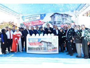 Meram'da Fahrünnisa Hatun Sosyal Tesisinin temeli atıldı