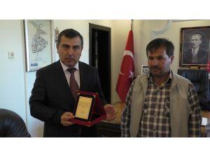 Beyşehir'de yılın şoförü ödüllendirildi