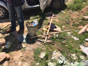 Akşehir'de kaçak kazı yapan 4 kişi yakalandı
