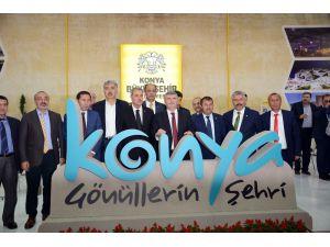 """Başkan Akyürek: """"Fuarlar Konya'ya hareketlilik getiriyor"""""""