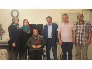 Seydişehir belediyesinden engelli vatandaşa akülü araba