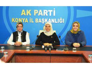 AK Parti Konya Milletvekili Hüsnüye Erdoğan gündemi değerlendirdi