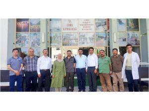 Milletvekili Erdoğan'dan Çumra Bakım ve Rehabilitasyon Merkezine ziyaret
