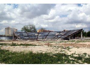 Cihanbeyli'de Anıt Parkı inşaatı devam ediyor