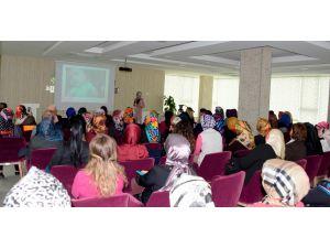 Meram Kadın Meclisinden sağlıklı beslenme semineri