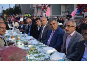 Ereğli'de mahalle iftarlarında Ramazan coşkusu