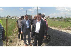 Başkan Tutal, çevre düzenleme çalışmalarını yerinde inceledi