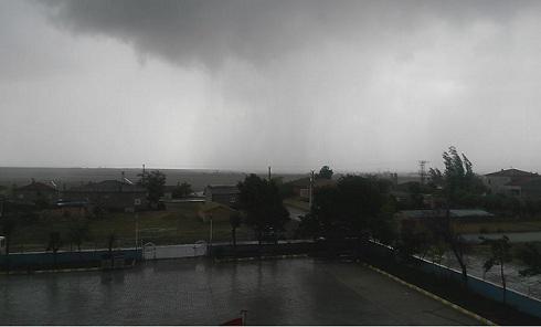 Eskil ve bölgesinde şiddetli yağış