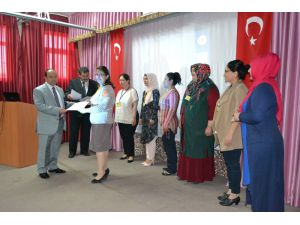 Kulu'da Aile Eğitim Kursunu tamamlayan kursiyerlere sertifikaları verildi