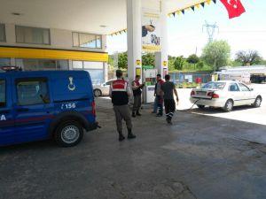 Beyşehir'de jandarmadan bilgilendirme broşürleriyle sahte para uyarısı