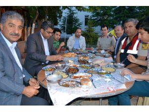 Kulu'da şehit aileleri ve gaziler onura iftar yemeği verildi