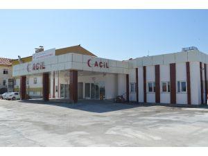 Eskil Devlet Hastanesi Acil Servisi yeni binasında