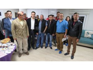 Beyşehir'de atama gören personele başarı belgesi
