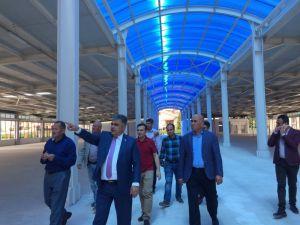Ereğli'de kapalı pazar alanı faaliyete geçiyor