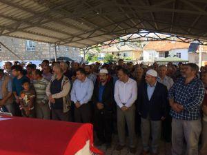 Beyşehir'de vefat eden Kıbrıs Gazisi toprağa verildi