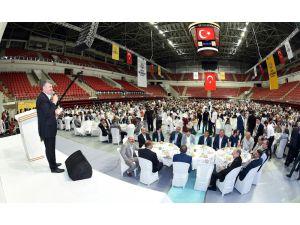 """Başkan Akyürek: """"Müslümanların kurtuluşu için dua edelim"""""""