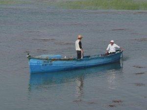 Beyşehir Gölü'nde yasak bitti, balıkçılar dualar eşliğinde avlanmaya çıktı