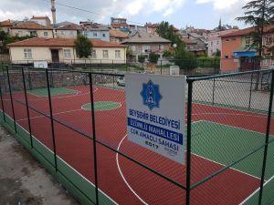 Beyşehir Belediyesinden okul bahçelerine spor kompleksi