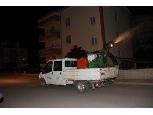 Beyşehir'de sinekle mücadele çalışmaları