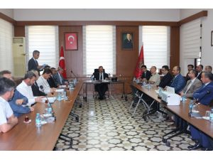 Konya'da uyuşturucuyla mücadele eden kurumlara teşekkür belgesi