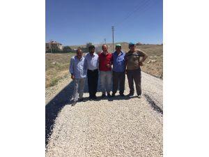 Topakkaya Belediye Başkanı Yılmaz'dan Alçay'a yol teşekkürü
