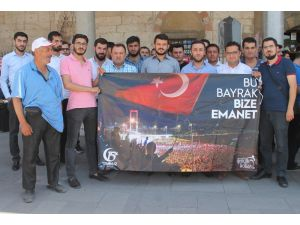 AK Parti Konya Gençlik Kollarından 15 Temmuz açıklaması