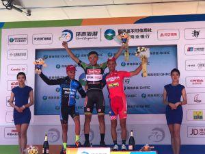 Torku Şekerspor'dan Ahmet Örken Çin'de 4. etapta 1. oldu