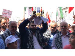 Konya'da STK'lardan Mescid-i Aksa tepkisi