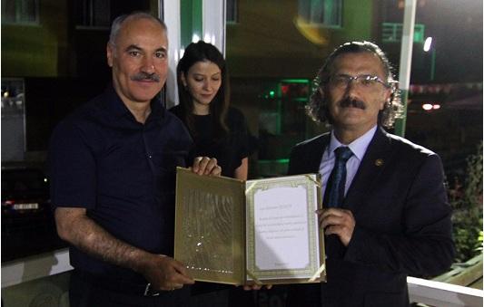 Eskilli Hakim Alparslan Keskin Daire Başkanı oldu