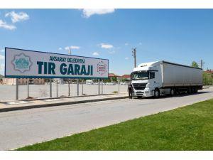 Aksaray'da yeni tır garajı hizmet vermeye başladı