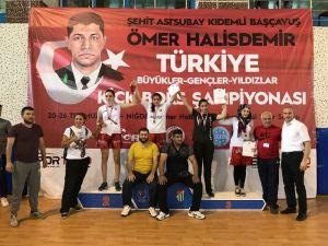 Sabriye Gür Türkiye şampiyonu oldu