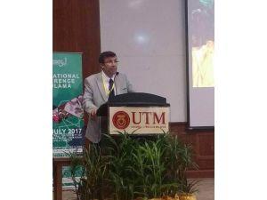 Prof. Dr. Kuşpınar, Uluslararası Ulema Konferansında baş konuşmacı oldu