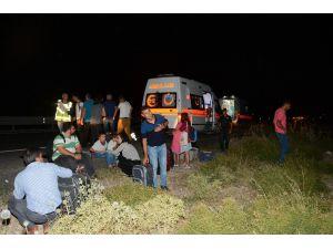 Sürücüsü beyin kanaması geçiren otobüs şarampole indi: 29 yaralı