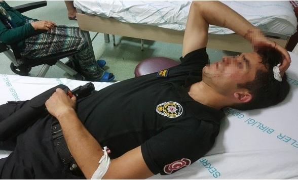 Beşiktaş-Konyaspor maçında hastanelik oldular