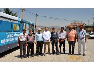 NEÜ Gezici Ağız ve Diş Sağlığı Kliniği ilk ziyaretini Kilistra'ya gerçekleştirdi